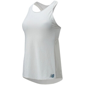 New Balance Q Speed Fuel Fashion Top sin Mangas Mujer, white